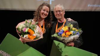 BeeScanning kammade hem två priser i Venture Cup Östs regionfinal. Foto: Victor Ackerheim