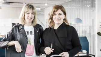 Josefin Klein och Vesna Vasiljkovic är nya studiochefer på Öresundskontoret.