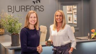 Charlotta Svensson och Carina Berg ska driva Alingsåskontoret.