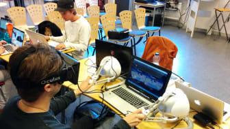 KTH-studenter använder den senaste spelteknologin
