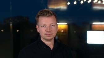 Vinnare i kategori Årets Förnyare Emanuel Karlsten