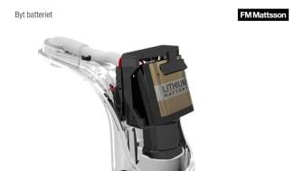 Batteribyte - 9000E Tronic
