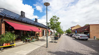 Sjöbo centrum. Fotograf: Anna Blohm