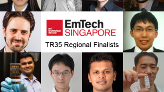 EmTech Singapore Announces 10 Regional Finalists for the  MIT Technology Review's 35 Innovators Under 35 Awards (TR35)