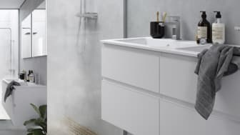 Kvalitetssystemet 'Care Less' följer som en röd tråd genom alla INRs produktgrupper för badrum.