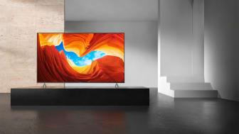 Sonys nye XH90 4K HDR Full Array LED tv'er lander snart i butikkerne