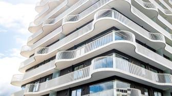 Brf Prostkvarnen i Jönköping har nyligen också prisats för sin arkitektur.