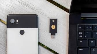 Yubico lanserar en ny säkerhetsnyckel, YubiKey 5C NFC, för att skydda mot hackare