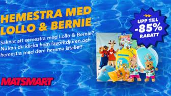 Lollo & Bernie-kampanj på Matsmart