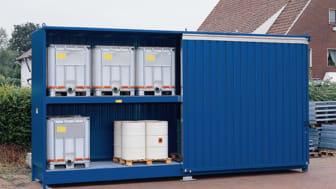 Sjöcontainer med kemikalier?!