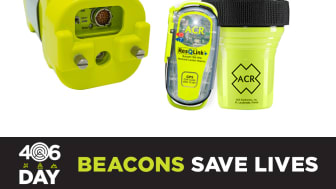406Day on April 6th raises awareness about the benefits of 406 MHz emergency beacons