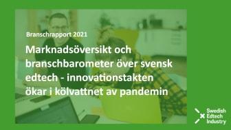 Den 26/4 släpps den utbildningsteknologiska branschens rapport