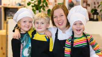 Tessins förskola i Nyköping finalist i Arla Guldko 2015 Bästa Matglädjeförskola