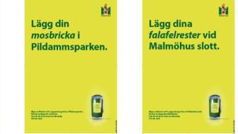 Exempel på bilder från årets renhållningskampanj