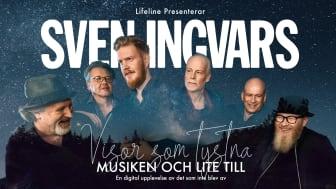 """Sven Ingvars presenterar digitalt konsertkoncept under jul och mellandagarna – """"Visor som tystna"""" – Musiken och lite till"""