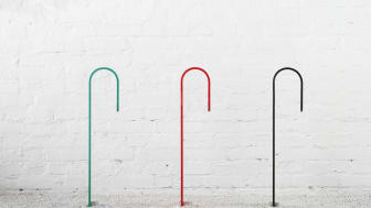 Hook bicycle stand, Note design Studio