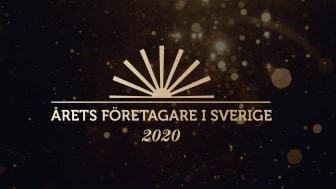 Årets Företagare är Sveriges största och mest prestigefyllda utmärkelse för företagare. På fredag 16 oktober koras Årets Företagare samt Årets Unga Företagare i Sverige 2020. Priset delas ut av