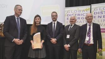 """Award für Projekt """"ReUseHeat"""""""