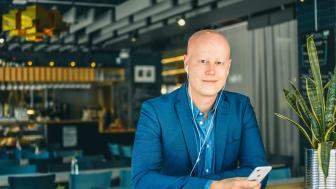 Niclas Sandin, VD BookBeat Foto: Andreas Carlfors