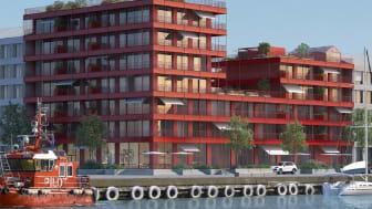 Mjöbäcks är tillsammans med Järngrinden tilldelad lott 10 med plats för cirka 30-40 lägenheter.