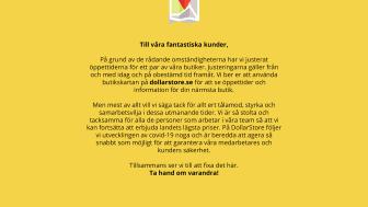 © Ahlberg-Dollarstore AB, 2020