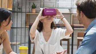 Försäljningar med virtuella visningar har ökat med 50 procent sedan coronautbrottet, visar Mäklarhusets siffror.  De har 200 procent längre interaktionstid än vanliga bostadspresentationer.