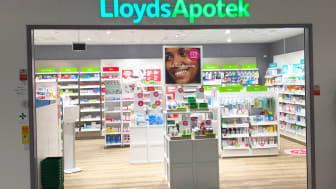 Det nyöppnade apoteket i Malmö där fyra Instalcobolag varit med i byggnationen.
