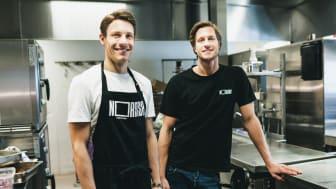 Göteborgsbröderna Philip och Fabian Axelsson som grundat Nordish