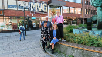 Rolf Burlin, Maria Östensson, Anna Parry, Anna Wikholm Kjellberg, Marlene Johansson foto: Amanda Westin