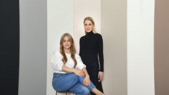 Med Emilia De Poret och Ebba Kleberg Von Sydow från Säker stil  har Alcro gjort en kulörkollektion inspirerad av våra garderobshjältar.