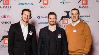 Från vänster: Sven Ericsson, Jimmy Rönnblom och Mikael Lindblad. Foto: Pax Engström