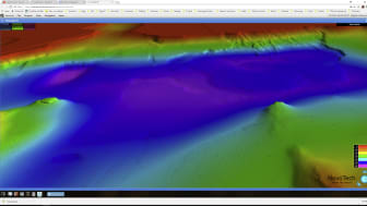 Den virtuelle virkelighetsmodellen av Hafrsfjorden viser havbunnen i 3D, og alle interesserte kan selv dykke ned i fjorden og ta del i jakten etter spor fra det berømte slaget.
