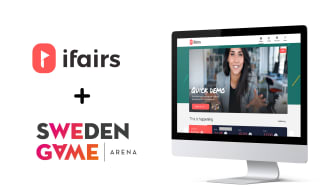 Sweden Game Arena samarbetar med den virtuella plattformen ifairs