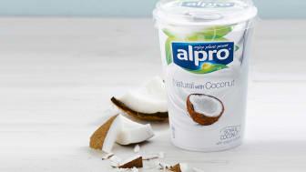 Alpro alternativ til yoghurt kokos 500 g steming 4:3 uten tekst