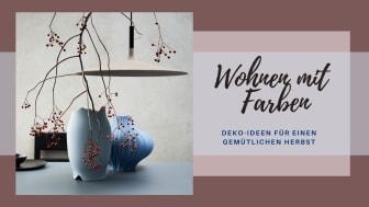 """Die farbenfrohen """"Sixty & Twelve"""" Jubiläumsvasen werden aus durchgefärbter Porzellanmasse gefertigt und zeigen Rosenthal-Klassiker aus verschiedenen Jahrzehnten."""