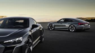Audi e-tron GT quattro, Kemora grå Audi RS e-tron GT, Daytona grå.jpg