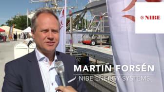 Martin Forsén, Manager International Affairs, summerar visionen om 100% fossilfri energisektor
