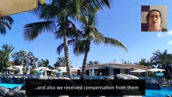 ECC client testimonial video from Lorraine Mutch.  Palm Oasis claimant