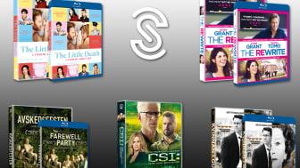 Nyheter på BLU-RAY, DVD och DIGITAL från Scanbox Entertainment i november