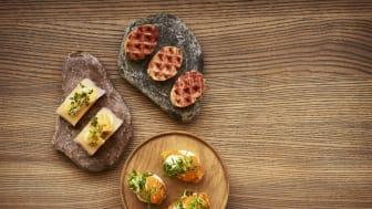 Maträtter på Restaurang Hantverket
