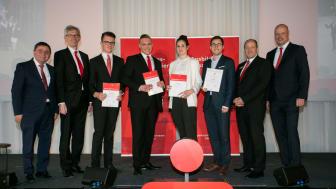Die besten vier Azubis der Stadtsparkasse München wurden eigens ausgezeichnet.