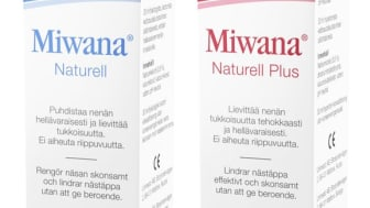 Miwana - Uudet puhdistavat ja tukkoisuutta vähentävät nenäsumutteet saatavana päivittäistavarakaupoista