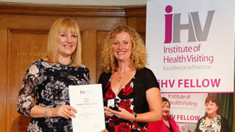 Honour for inspirational health visitor