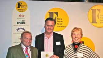 GROVA vinner 1:a-priset i brittiska tävlingen Free From Food Awards 2012