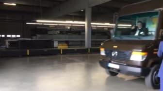 Erste Fahrt mit dem LKW von UPS mit BPW-Elektroantrieb