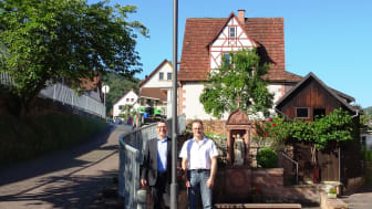 Leuchtendes Vorbild: Rüdenau stellt Straßenbeleuchtung komplett auf LED um