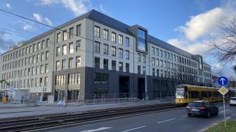"""TLG IMMOBILIEN AG, eine Tochtergesellschaft der Aroundtown SA, erreicht für das Büroprojekt """"NEO"""" in Dresden-Neustadt mit einem Mietvertrag über ca. 4.000 m² die Vollvermietung"""