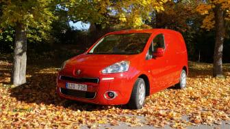 Peugeot Partner med nytt utseende och PRO Pack