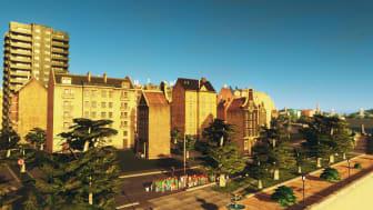 Studenter, forskare och gamers utvecklar  Norra Djurgårdstaden i dataspelet Cities: Skylines