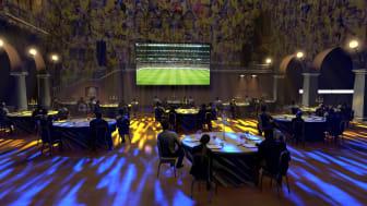 The Veranda Restaurant at the Grand Hôtel Opens Major Pop-Up During the UEFA European Football Championship